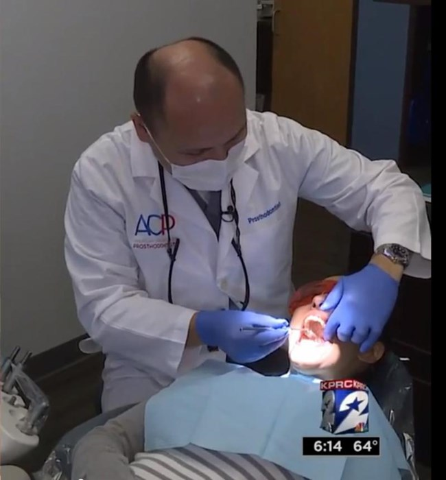 Prosthodontist on NBC in Houston - News | American College of