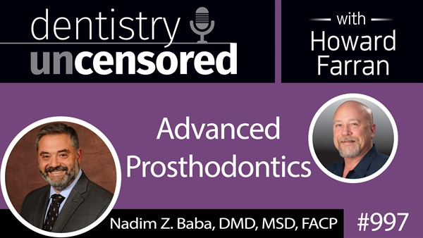 Dr. Nadim Baba - Dental Town Podcast
